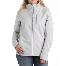 Load image into Gallery viewer, Women's Cinch Gray & White Textured Bonded Jacket