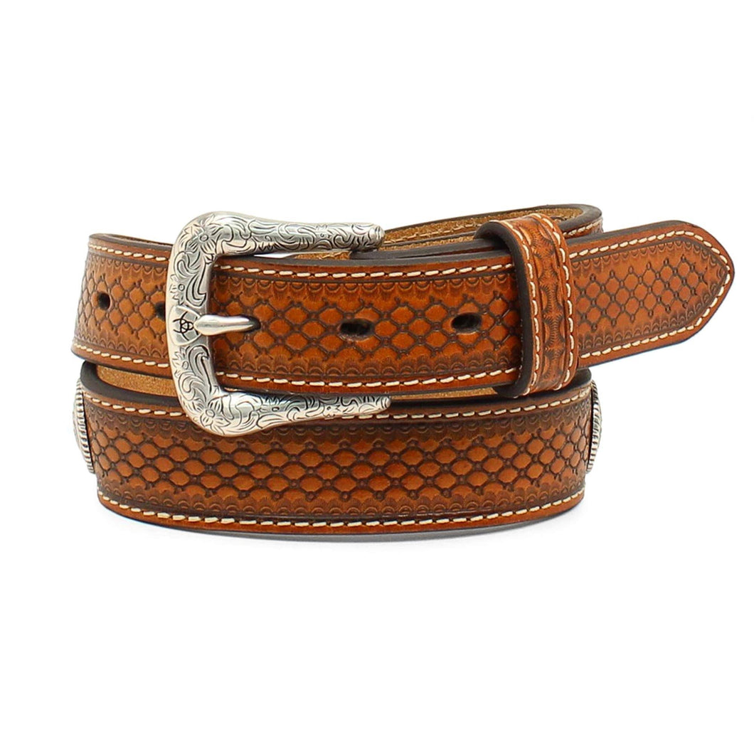 Kid's Ariat Aztec Brown Belt