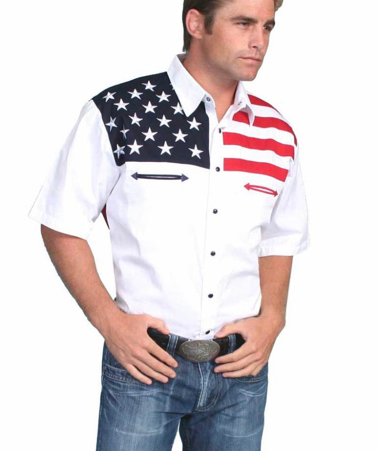 Men's Scully Short Sleeve Shirt P-756SS