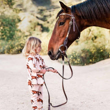 Load image into Gallery viewer, Baby Milkbarn Horse Dress & Legging Set