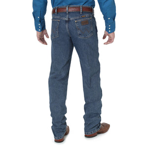 Men's Wrangler Premium Performance Advanced Comfort Dark Denim Jeans