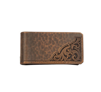 Montana Silversmiths Rough Out Money Clip