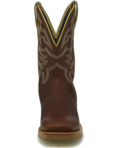 Men's Justin Marshal Whiskey Neat Brown Work Boot