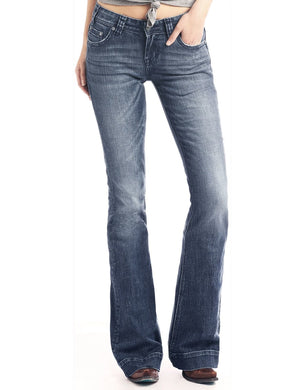 Women's Rock & Roll Denim Vintage Trouser Jeans