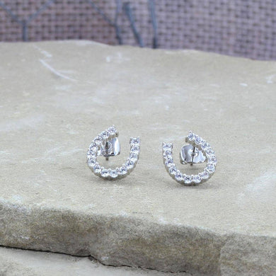Montana Silversmiths Tiny Rider Post Earrings