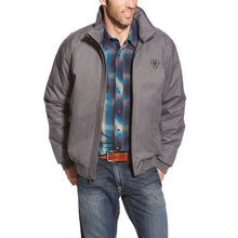 Load image into Gallery viewer, Men's Ariat Charcoal Team Logo Full-Zip Jacket