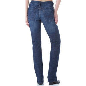 Women's Wrangler Straight Leg Dark Wash Jeans