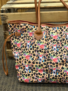 Large Printed Tote Bags - 3 Colors