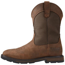 Load image into Gallery viewer, Men's Ariat Groundbreaker H2O Brown Bomber Work Boots