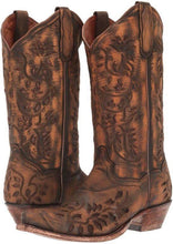 Load image into Gallery viewer, Women's Dan Post Brown Irresistible Boot
