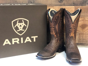 Men's Ariat Brown VentTEK Square Toe Boot