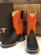 Load image into Gallery viewer, Men's Ariat Quickdraw Orange & Brown Boot