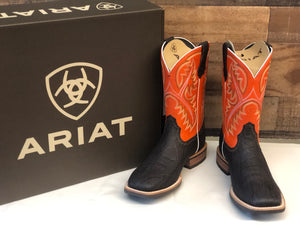 Men's Ariat Quickdraw Orange & Brown Boot