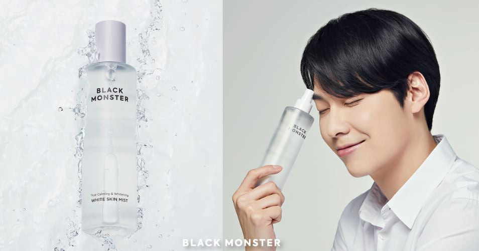 All You Need For Daily Skincare | Black Monster White Line Collection | Now in Singapore!