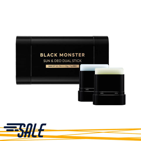 Black Monster Sun & Deo Dual Stick