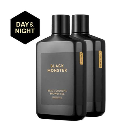 Black Monster Black Cologne Shower Gel