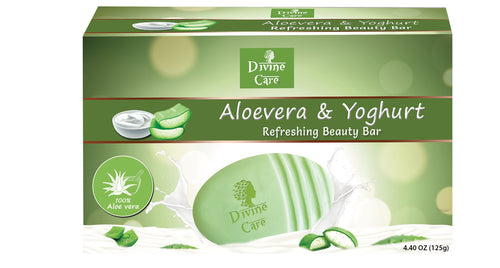Beauty Bar Aloe-Vera and Yogurt