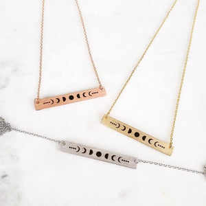 Moonbeam Bar Necklace