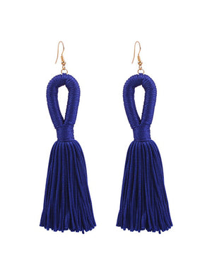 Cutout Wings Tassels