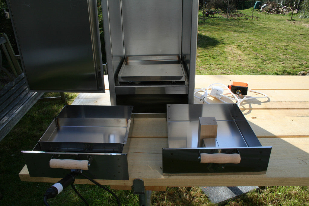 electric insulated food smoker