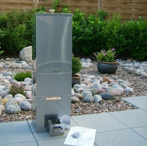 Stainless steel Portable Electric Fish /& Meat Smoker by outdoorcook.co.uk