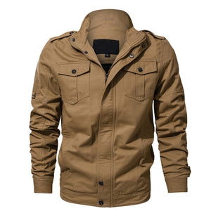 Multi-pocket Spring Autumn Jacket