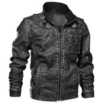 Crow Biker Leather Jacket