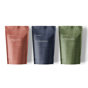 Lot 3 infusions chanvre CBD - hemêka®