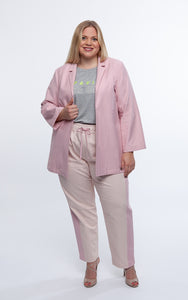 Favie Curvy Fashion Blazer Front