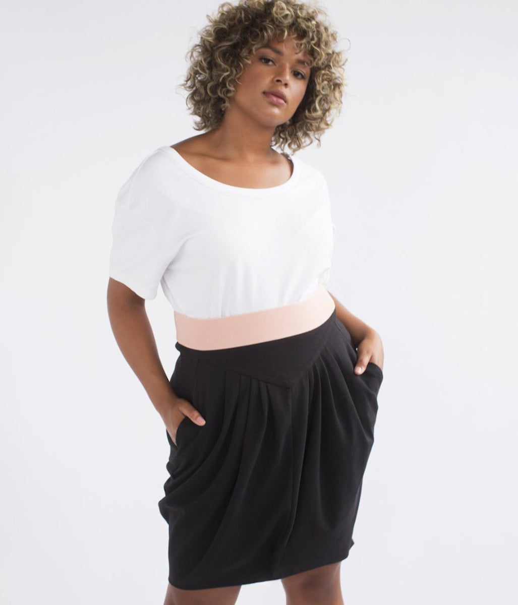 Favie Curvy Fashion See Rose Go Rock Vorderansicht