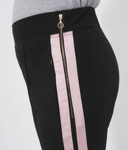 Favie Curvy Fashion See Rose Go Jogginghose Seitenansicht