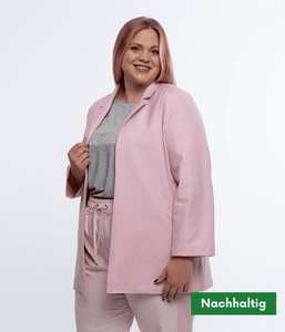 Favie Curvy Fashion Blazer Vorderansicht Plus Size