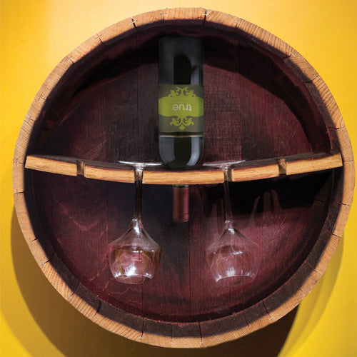 Barrel Stemware Rack