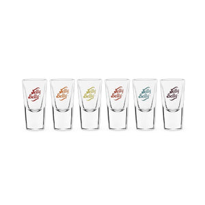 Jelly Belly Shot Glasses (set of 6)
