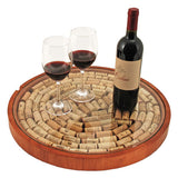 Lazy Susan Cork Display