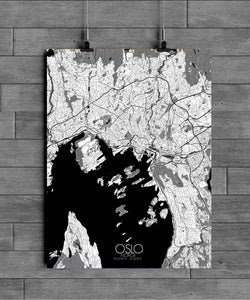 Mapospheres New York Black and White full page design poster city map