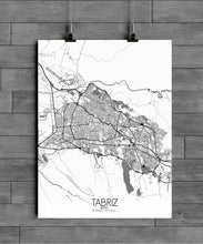 Load image into Gallery viewer, Mapospheres New York Black and White full page design poster city map