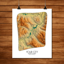 Load image into Gallery viewer, Elevation Map | Custom your maps
