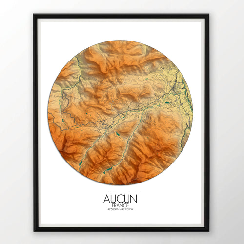 Aucun | France | Elevation map