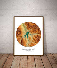Load image into Gallery viewer, Breckenridge | Elevation map