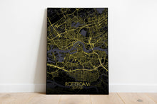 Load image into Gallery viewer, Mapospheres New York Night full page design poster city map