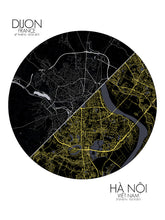 Load image into Gallery viewer, Dijon Hanoi Love Maps mapospheres