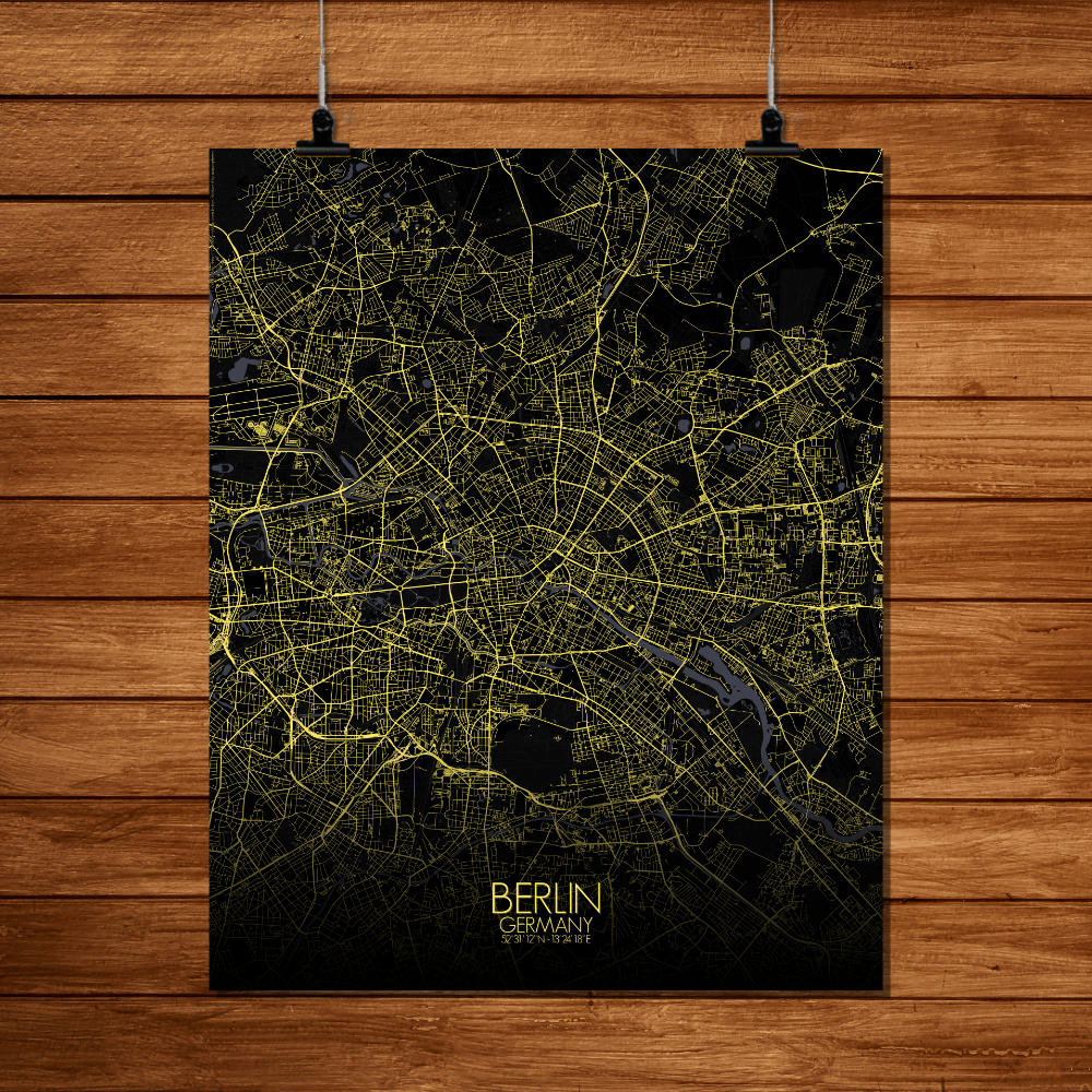 Mapospheres Montreal Night full page design poster city map