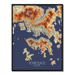 Elevation Map | Custom your maps