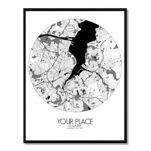 B&W Design | Custom your maps