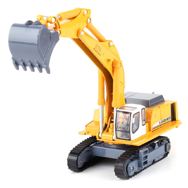 Details about Hydraulic Excavator Crawler 1:87 Scale Diecast Construction  Truck Hobby Model
