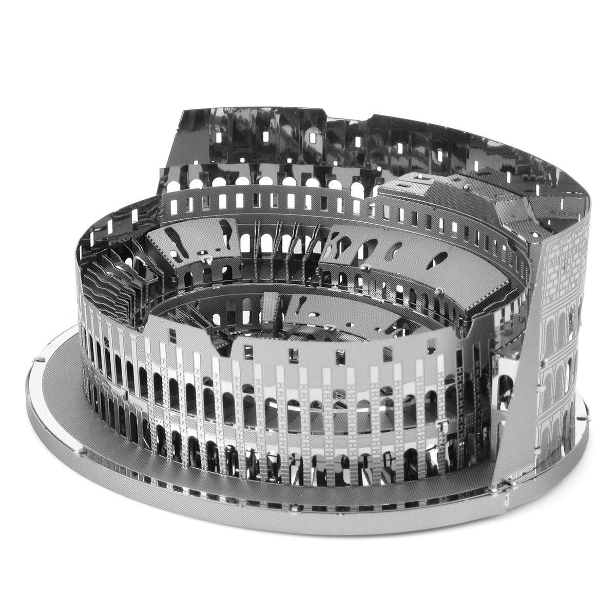 Details about Metal Earth ICONX Roman Colosseum 3D Laser Cut DIY Model  Hobby Gift Build Kit