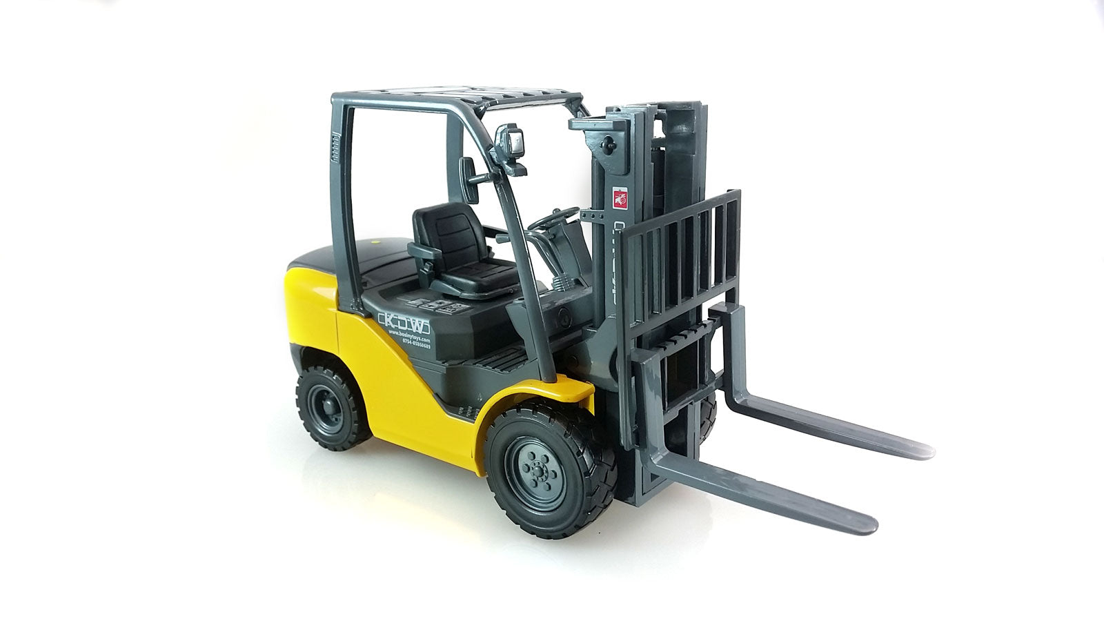 Yellow Forklift Truck Industrial
