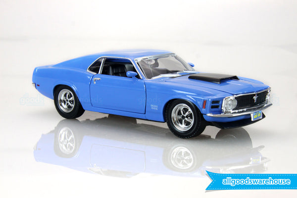 1970 Blue Ford Mustang Boss 429