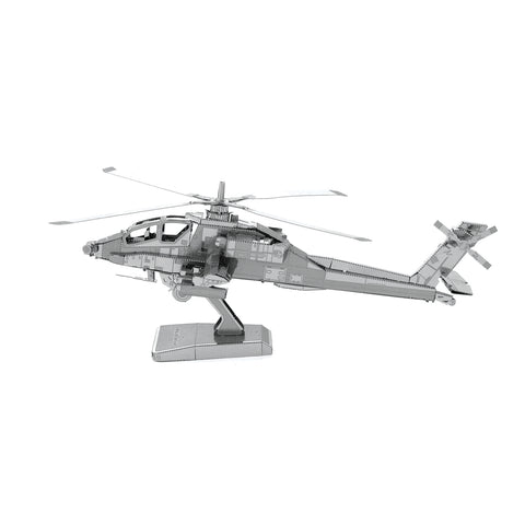 AH-64 Apache Army Helicopter Metal Earth